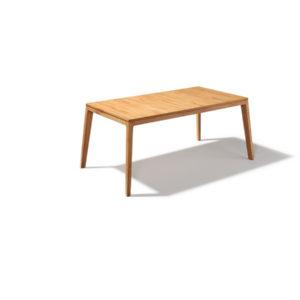Tisch Mylon in Kernbuche ohne Auszug.